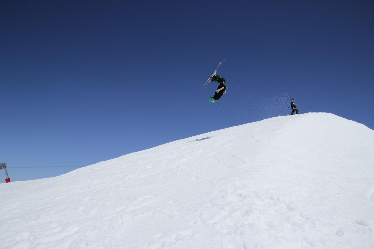 lyžování Itálie