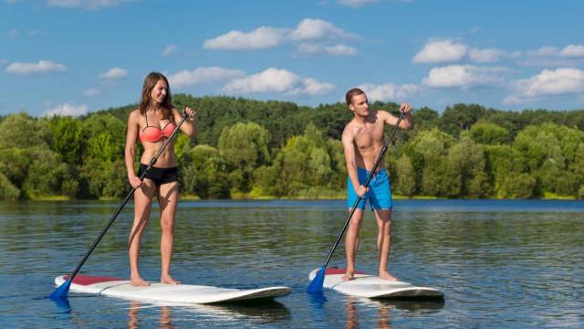 Půjčovna paddleboardů Brno